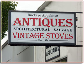 Buckeye Appliance sign