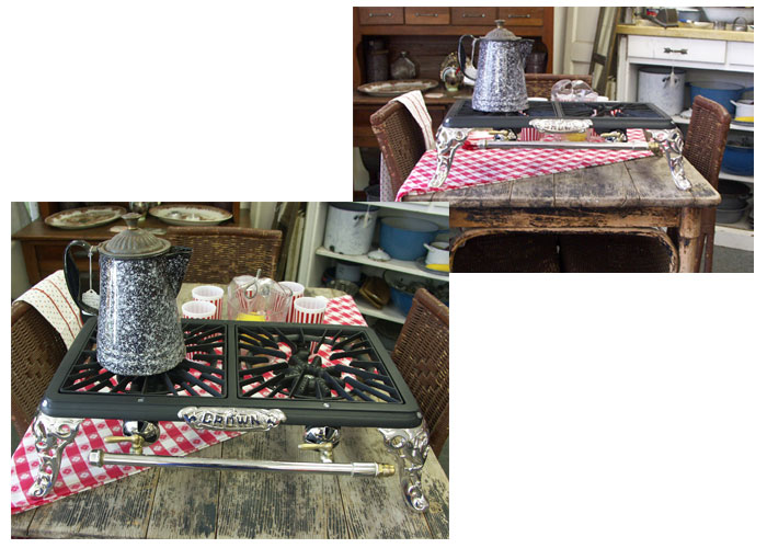 Crown Table Top Stove